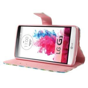 Obrázkové pouzdro na mobil LG G3 - barevná kolečka - 3