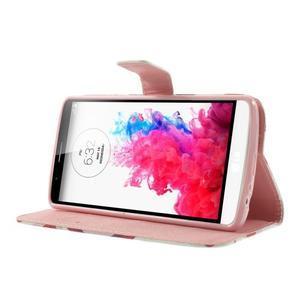 Ultra motive peněženkové pouzdro na LG G3 - love - 3