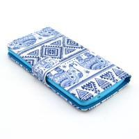 Obrázkové pouzdro na mobil LG G3 - modří sloni - 3/6