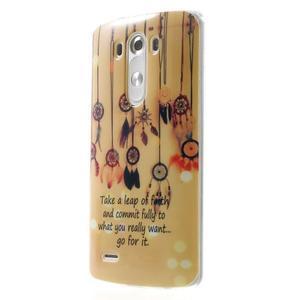 Gelový kryt na mobil LG G3 - lapače snů - 3