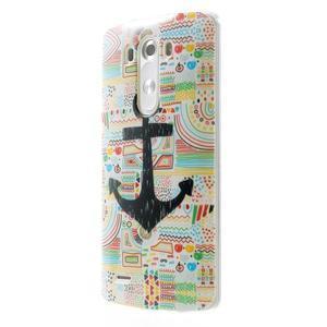 Gelový kryt na mobil LG G3 - kotva - 3