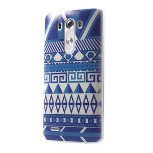 Silks gelový obal na mobil LG G3 - geo tvary - 3