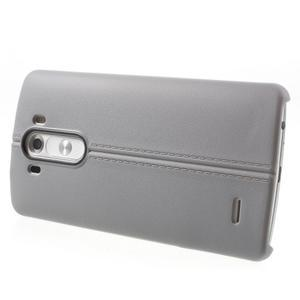 Lines gelový kryt na mobil LG G3 - šedý - 3