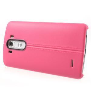 Lines gelový kryt na mobil LG G3 - rose - 3