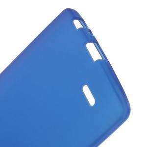Matný gelový obal na LG G3 - tmavěmodrý - 3