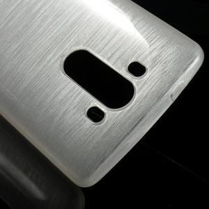 Brush gelový obal na LG G3 - bílý - 3