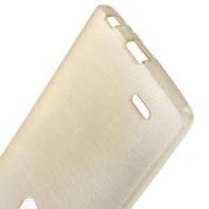 Brush gelový obal na LG G3 - champagne - 3