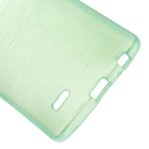 Brush gelový obal na LG G3 - cyan - 3