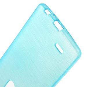 Brush gelový obal na LG G3 - modrý - 3