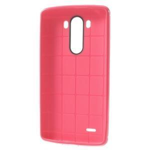 Silks gelový obal na LG G3 - rose - 3
