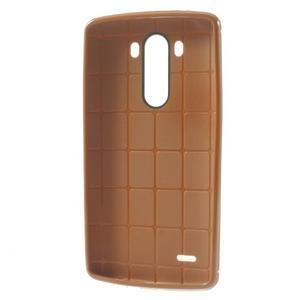 Silks gelový obal na LG G3 - oranžový - 3