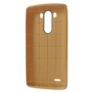 Silks gelový obal na LG G3 - hnědý - 3