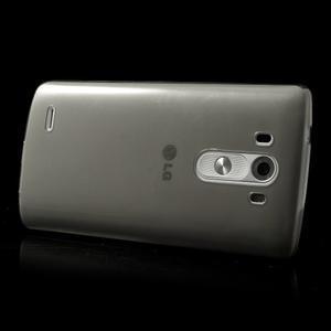 Ultratenký slim obal na mobil LG G3 - šedý - 3