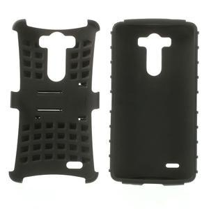 Outdoor odolný obal na mobil LG G3 - černý - 3