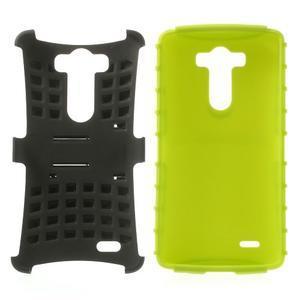 Outdoor odolný obal na mobil LG G3 - zelený - 3
