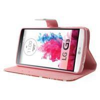 Obrázkové pouzdro na mobil LG G3 - zamilovaný medvídek - 3/7