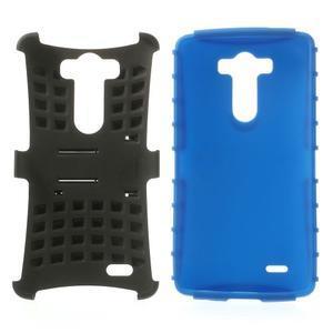 Outdoor odolný obal na mobil LG G3 - modrý - 3