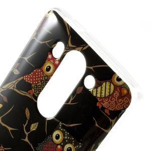 Gelový kryt pro LG G3 s - sovičky - 3