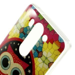 Gelový kryt pro LG G3 s - hvězdná sova - 3