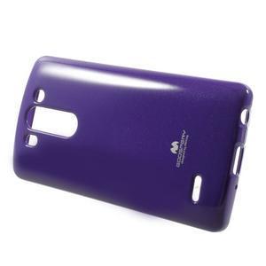 Odolný gelový obal na LG G3 s - fialový - 3
