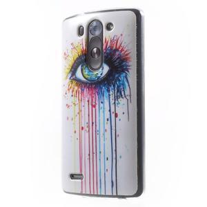 Gelový obal na LG G3 s - oko barev - 3
