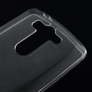 Transparentní ochranný gelový kryt LG G3 s - 3