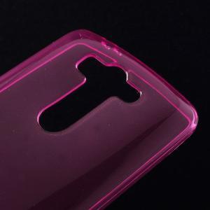 Rose ochranný gelový kryt LG G3 s - 3