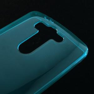 Modrý ochranný gelový kryt LG G3 s - 3