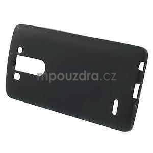 Černý matný gelový kryt LG G3 s - 3