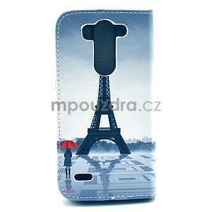 Peněženkové pouzdro na LG G3 s -  Eiffelova věž - 3