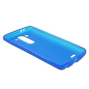 Modrý matný gelový kryt LG G3 s - 3