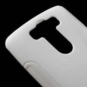 S-line bílý gelový obal na LG G3 s - 3