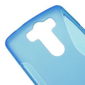 S-line modrý gelový obal na LG G3 s - 3