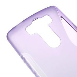 S-line fialový gelový obal na LG G3 s - 3