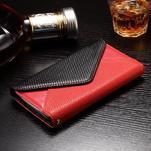 Enlop peněženkové pouzdro na LG G4 - červené/černé - 3/3