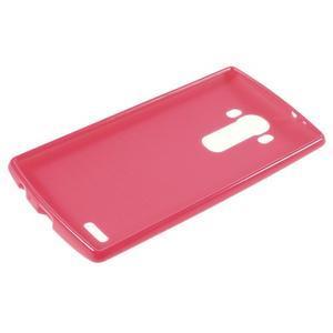 Lesklý gelový obal na LG G4 - rose - 3