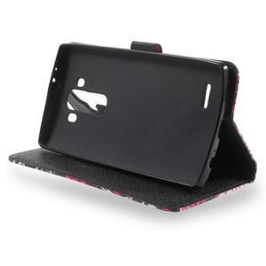 Call peněženkové pouzdro na LG G4 - kouzelní motýlci - 3
