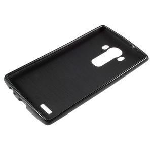 Lesklý gelový obal na LG G4 - černý - 3