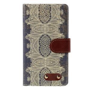Koženkové pouzdro na mobil LG G4 - Henna - 3