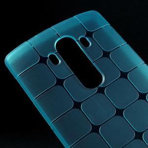 Square gelový obal na LG G4 - modrý - 3