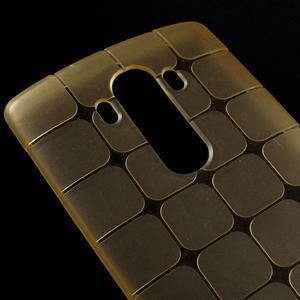Square gelový obal na LG G4 - champagne - 3