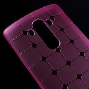 Square gelový obal na LG G4 - rose - 3