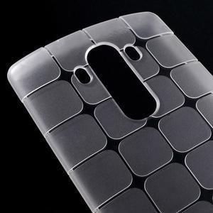 Square gelový obal na LG G4 - bílý - 3