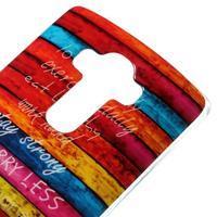 Jells gelový obal na mobil LG G4 - barvy dřeva - 3/5