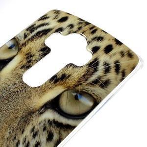 Jells gelový obal na mobil LG G4 - leopard - 3