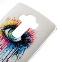Jells gelový obal na mobil LG G4 - barevné oko - 3/5