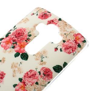 Jells gelový obal na mobil LG G4 - květiny - 3