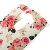 Jells gelový obal na mobil LG G4 - květiny - 3/5