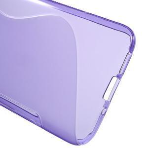 S-line gelový obal na mobil LG G5 - fialový - 3