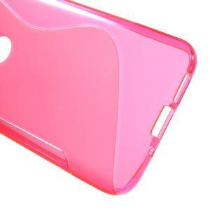 S-line gelový obal na mobil LG G5 - rose - 3